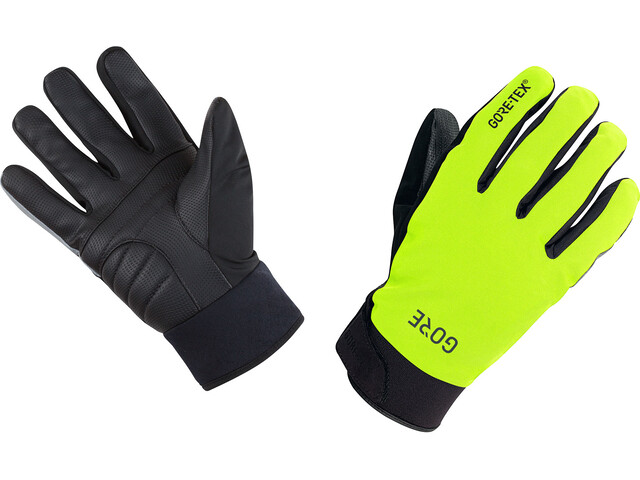 GORE WEAR C5 Gore-Tex Thermo Gloves neon yellow/black